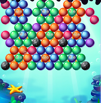 MK - Aqua Bubble Shooter